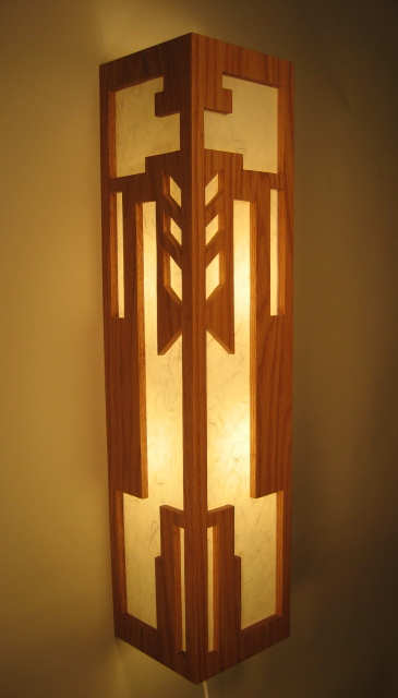Frank Lloyd Wright Woodworking Plans - Furniture & Lighting Designs