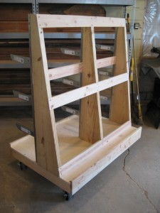 Lumber cart plans plans diy free download plans for flower for Rolling lumber cart plans