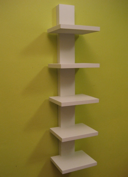 wall shelf construction plans