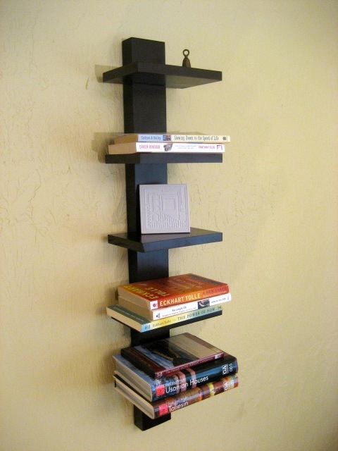 Shelf is a classic expression of a clean contemporary vertical shelf ...