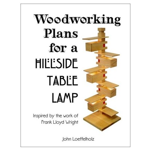 Woodworking Plans for a Hillside Table Lamp
