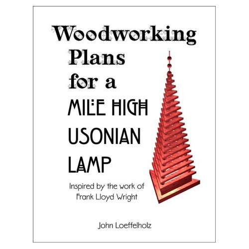 Woodworking Plans for a Mile High Usonian Lamp